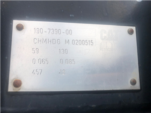 Part Number: BUC-302-1907390      for Caterpillar 302