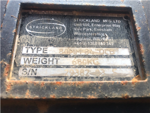 Part Number: BUC-320-STRICK-84    for Caterpillar 320